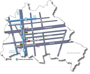 Lageplan Zimmerstr. Berlin